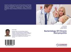 Обложка Bacteriology Of Chronic Dacryocystitis