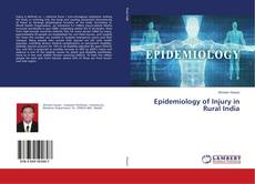 Buchcover von Epidemiology of Injury in Rural India
