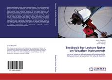 Textbook for Lecture Notes on Weather Instruments的封面