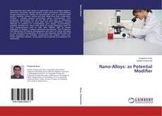 Capa do livro de Nano-Alloys: as Potential Modifier