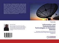 Обложка Information and Communication Technologies in Extension Delivery