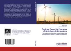Optimal Capacity Planning of Distributed Generators kitap kapağı