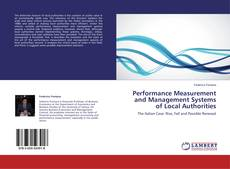 Bookcover of Performance Measurement and Management Systems of Local Authorities