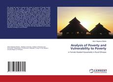 Couverture de Analysis of Poverty and Vulnerability to Poverty