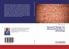 Couverture de Research Design for Advanced Studies in Missiology