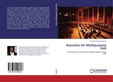 Copertina di Acoustics for Multipurpose Hall