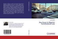 Capa do livro de Key Issues in Nigerian Constitutional Law