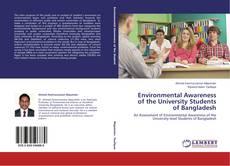 Capa do livro de Environmental Awareness of the University Students of Bangladesh