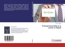 Couverture de Entrepreneurship as a career in Nepal