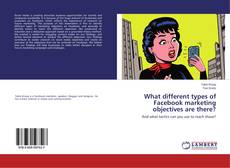 Couverture de What different types of Facebook marketing objectives are there?