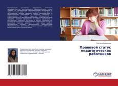 Bookcover of Правовой статус педагогических работников