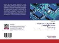 Borítókép a  Rice Grading System for Embedded Image Processing - hoz