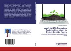 Couverture de Analysis Of Information Systems Case study in Bomet County, Kenya