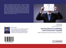 Capa do livro de Service Brand Credibility and Consumer Loyalty