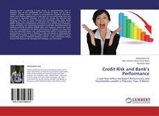 Bookcover of Credit Risk and Bank's Performance