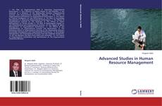 Bookcover of Advanced Studies in Human Resource Management
