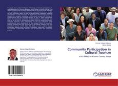 Bookcover of Community Participation in Cultural Tourism