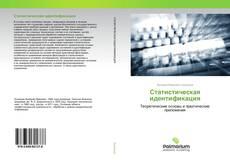 Обложка Статистическая идентификация