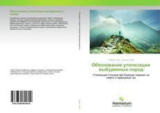 Обоснование утилизации выбуренных пород kitap kapağı