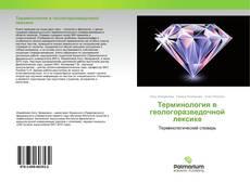 Обложка Терминология в геологоразведочной лексике