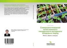 Bookcover of Совершенствование качественного посадочного материала плодовых пород