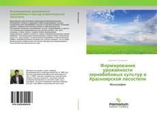 Bookcover of Формирование урожайности зернобобовых культур в Красноярской лесостепи