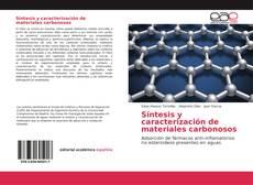 Portada del libro de Síntesis y caracterización de materiales carbonosos