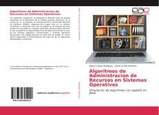 Capa do livro de Algoritmos de Administracion de Recursos en Sistemas Operativos