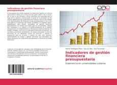 Buchcover von Indicadores de gestión financiera presupuestaria