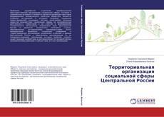 Обложка Территориальная организация социальной сферы Центральной России