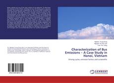 Buchcover von Characterization of Bus Emissions – A Case Study in Hanoi, Vietnam