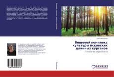 Portada del libro de Вещевой комплекс культуры псковских длинных курганов