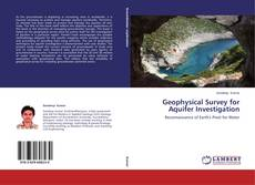 Bookcover of Geophysical Survey for Aquifer Investigation