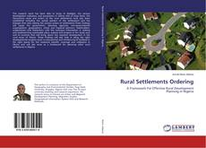 Couverture de Rural Settlements Ordering