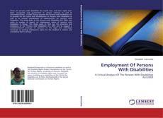 Borítókép a  Employment Of Persons With Disabilities - hoz