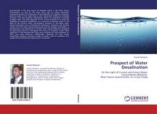 Bookcover of Prospect of Water Desalination