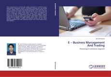 Buchcover von E – Business Management And Trading