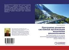 Bookcover of Программа развития системной организации мышления дошкольников