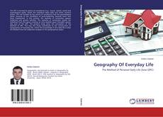 Buchcover von Geography Of Everyday Life
