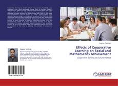 Bookcover of Effects of Cooperative Learning on Social and Mathematics Achievement