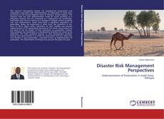 Bookcover of Disaster Risk Management Perspectives