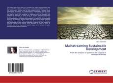 Обложка Mainstreaming Sustainable Development