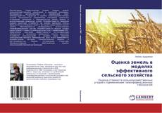 Bookcover of Оценка земель в моделях эффективного сельского хозяйства