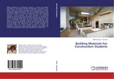 Buchcover von Building Materials For Construction Students