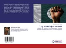 Capa do livro de City branding in Pakistan