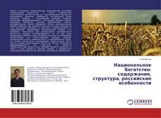 Buchcover von Национальное богатство: содержание, структура, российские особенности
