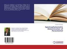 Bookcover of Spectrophotometric Determination of Paracetamol