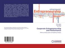 Couverture de Corporate Entrepreneurship and Performance
