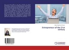 Capa do livro de Entrepreneur of the 21st century