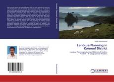 Bookcover of Landuse Planning in Kurnool District
